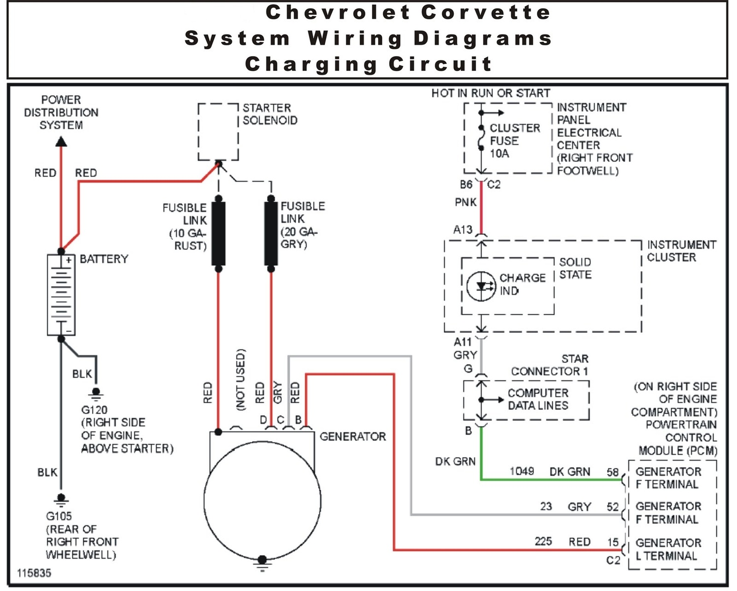 car charging system wiring diagram for light switch uk chevrolet corvette questions i need to know the