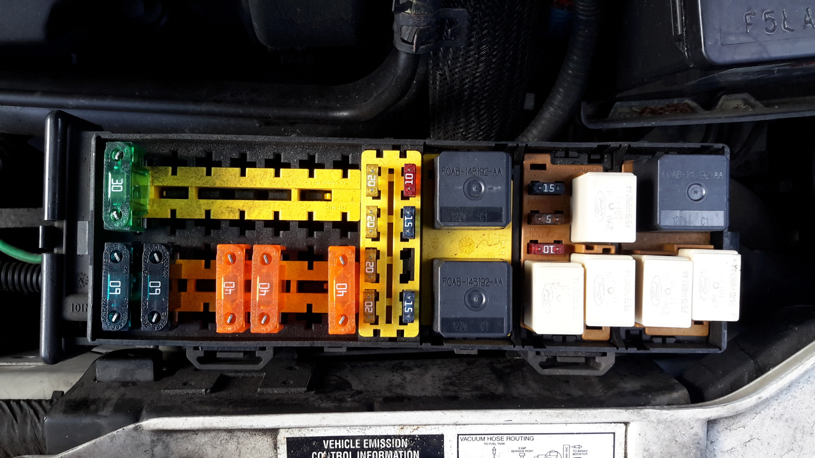 2007 Ford Explorer Fuse Box Diagram Mercury Sable Questions Where Is The Relay For The Power