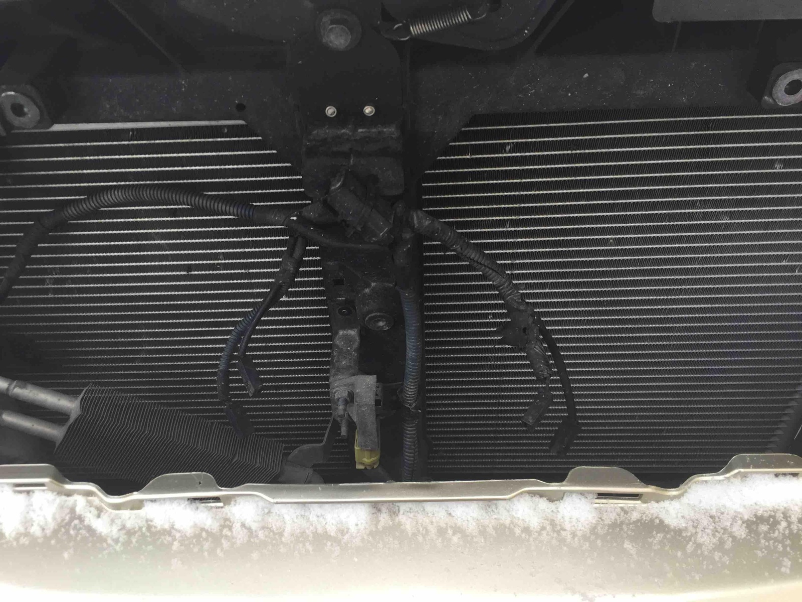 hight resolution of what do these wires behind the grill go to