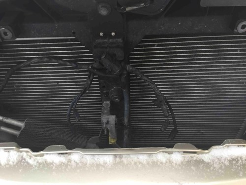small resolution of what do these wires behind the grill go to