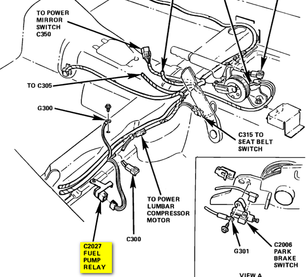 2000 mustang gt wiring diagram rheem heat pump ford questions 1987 lx 5 0 where is the fuel relay