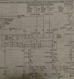 here s the wiring diagram you re looking at the yellow wire on the left socket and the dark green wire on the right socket hth jim [ 1600 x 1018 Pixel ]