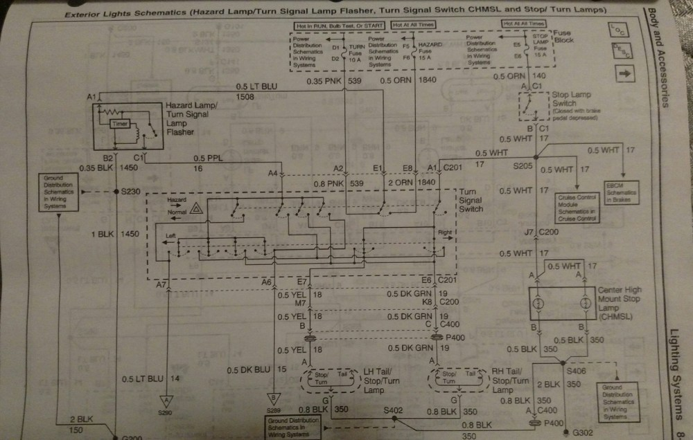 medium resolution of here s the wiring diagram you re looking at the yellow wire on the left socket and the dark green wire on the right socket hth jim