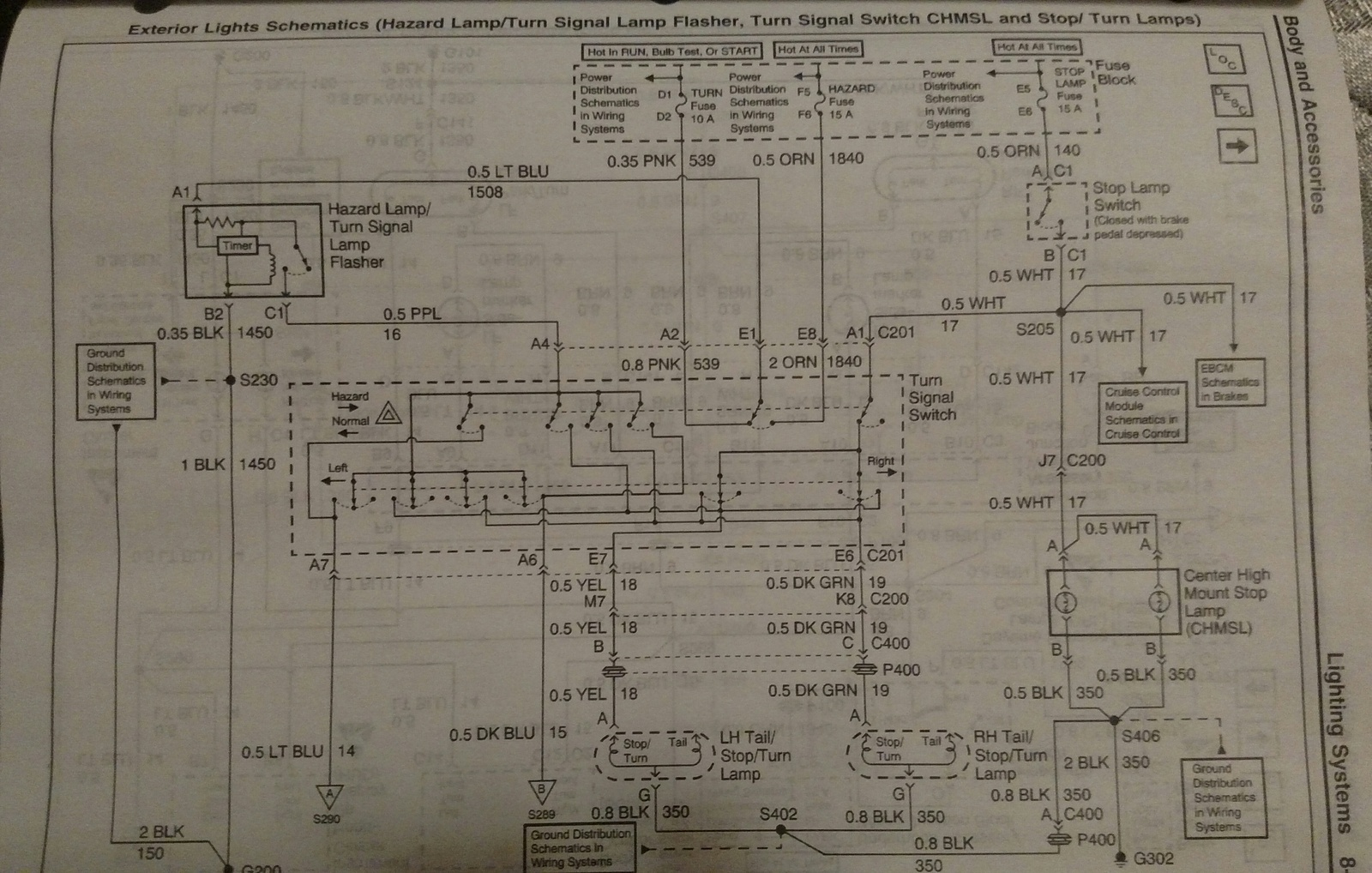 hight resolution of here s the wiring diagram you re looking at the yellow wire on the left socket and the dark green wire on the right socket hth jim