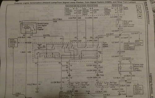 small resolution of here s the wiring diagram you re looking at the yellow wire on the left socket and the dark green wire on the right socket hth jim
