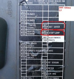 fuse box diagram for 2013 nissan altima fuse free engine 2010 nissan frontier parts diagram 2006 nissan sentra fuse box diagram [ 900 x 1200 Pixel ]