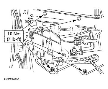 Ford Explorer Window Regulator Diagram Ford Explorer