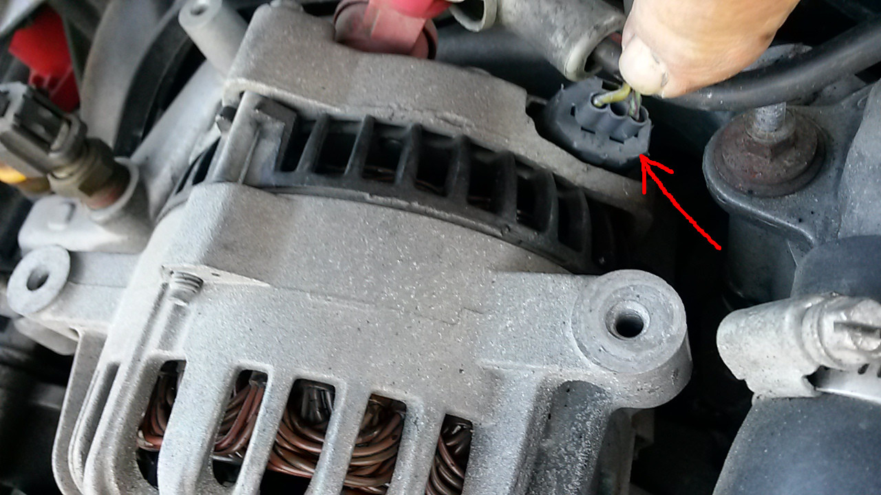 2000 mustang gt wiring diagram how a water softener works ford questions 01 battery light won t go off is this issue or there something going south with the alternator regulator