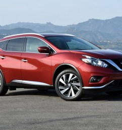 2016 nissan murano test drive review [ 1024 x 768 Pixel ]