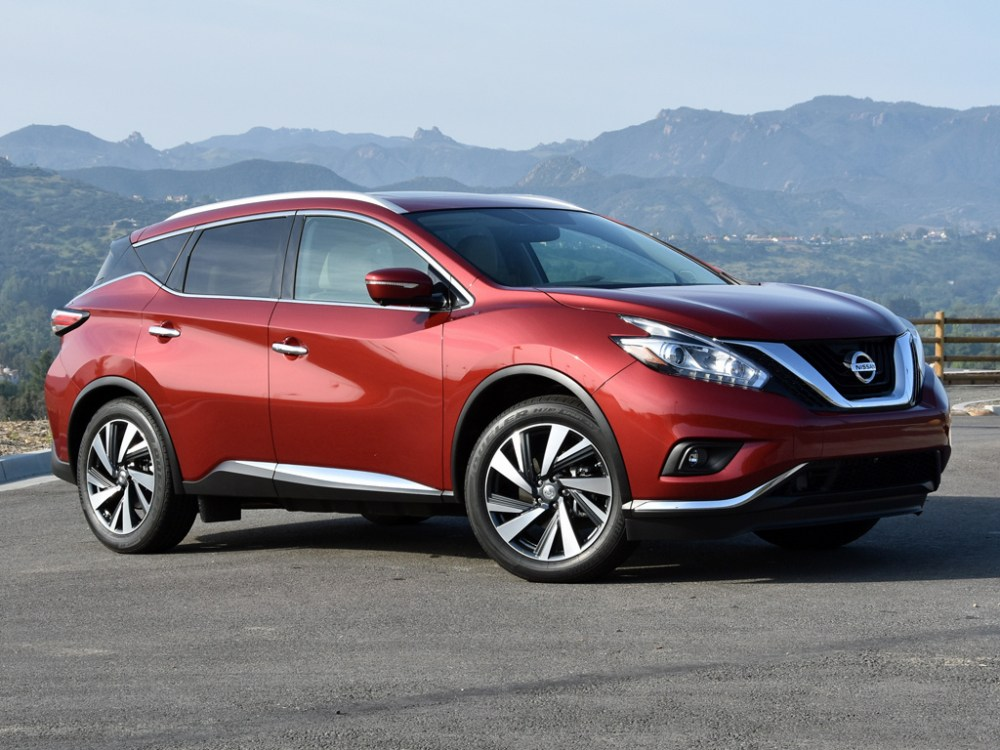 medium resolution of 2016 nissan murano test drive review