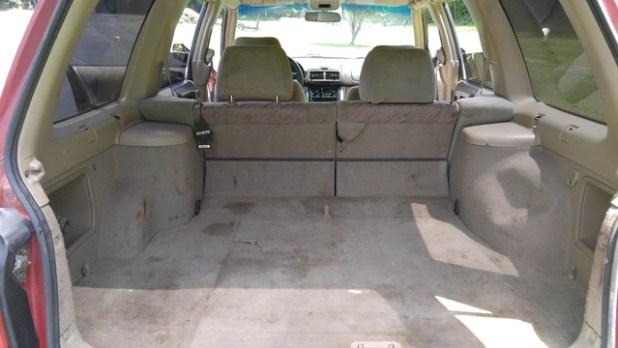Subaru Forrester Interior