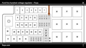 2005 Montego Fuse Diagram | Wiring Library