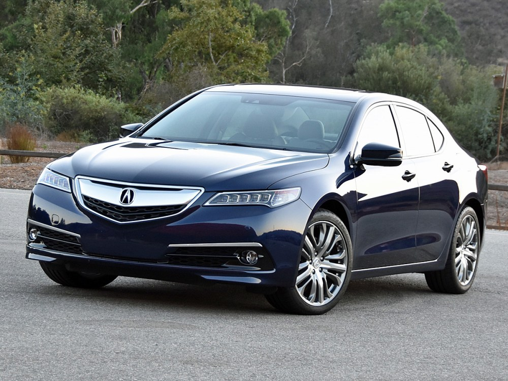 medium resolution of 2016 acura tlx test drive review