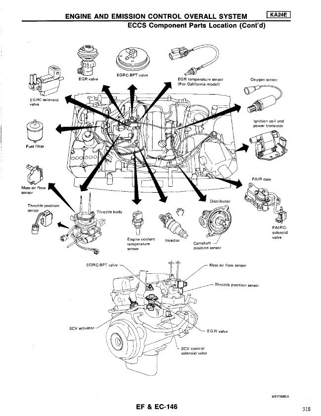 94 Ford Ranger Crank Sensor Location
