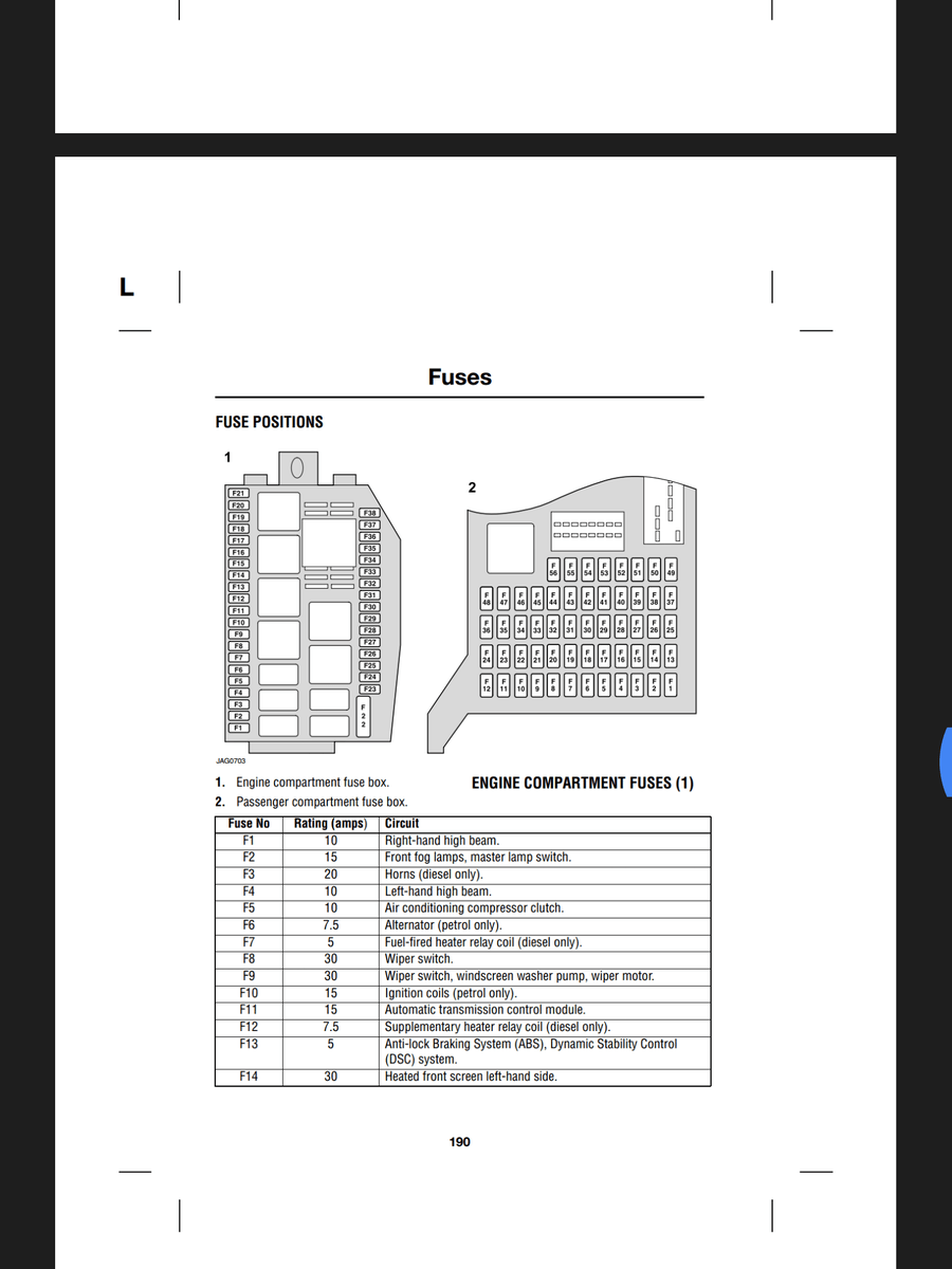 2003 Jaguar X Type Fuse Box Diagram : 35 Wiring Diagram