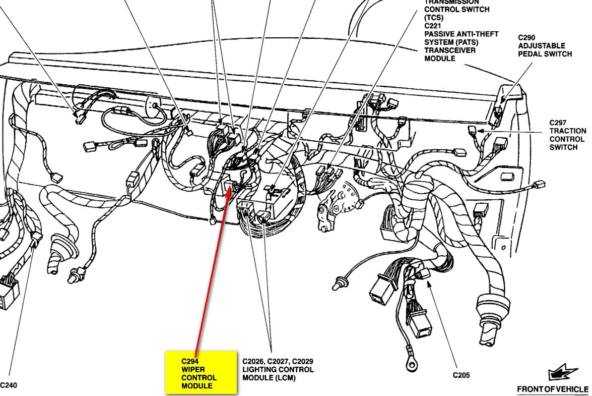 Crown Vic Seat Wiring Diagram