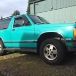 Chevrolet S 10 Blazer Questions 92 Chevy S10 Blazer Rough Start Every Time Cargurus