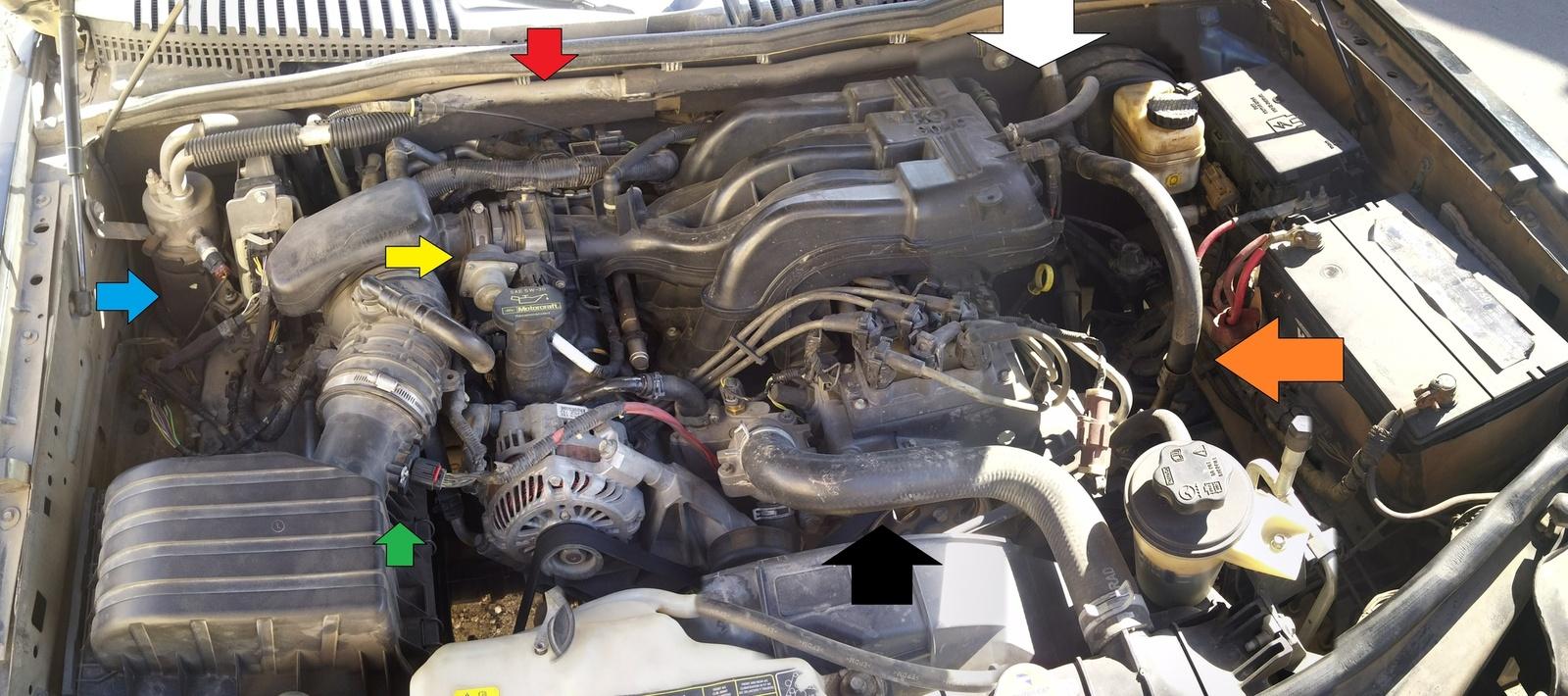 Ford Serpentine Belt Diagram Additionally Ford Bronco Wiring Diagram