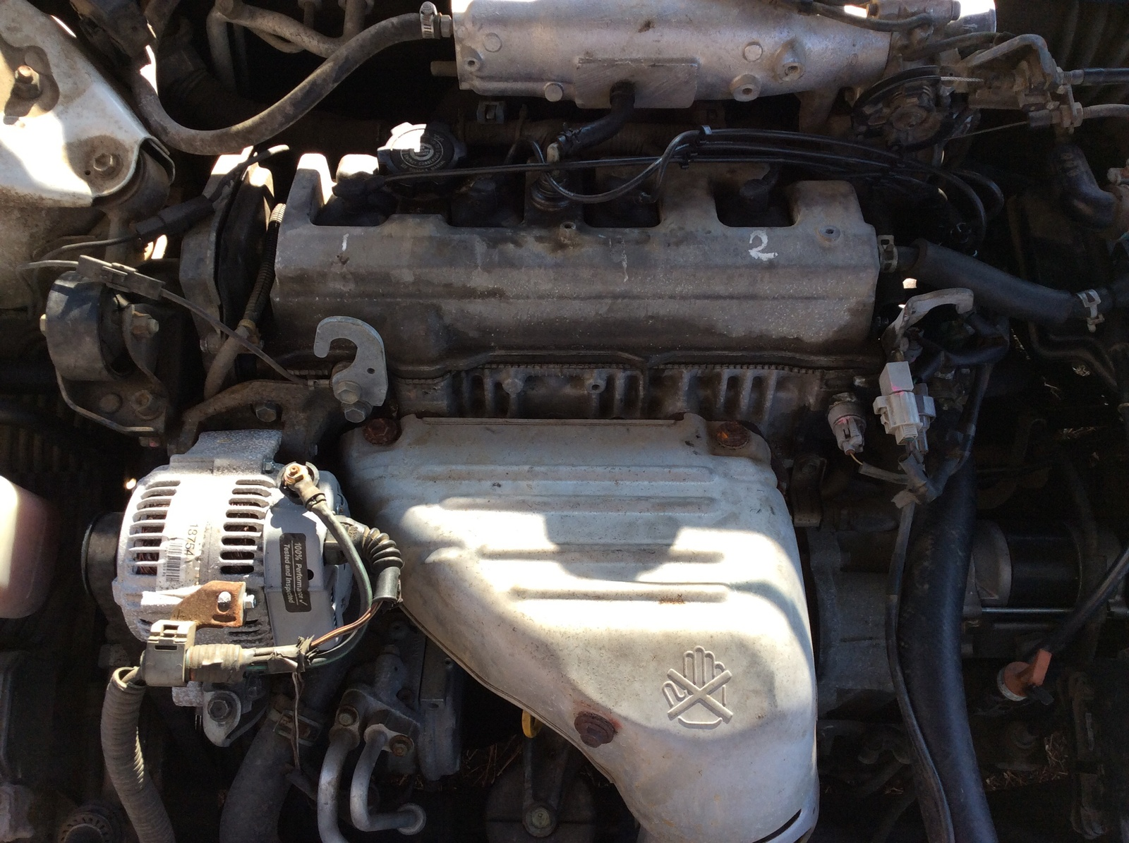 hight resolution of i have a 1998 toyota camry le with a sohc 2 2 4 cylinder motor and i
