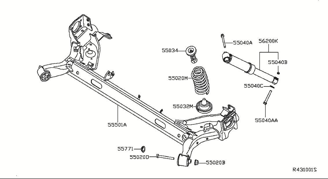 2013 Nissan Altima Rear Suspension Diagram Nissan
