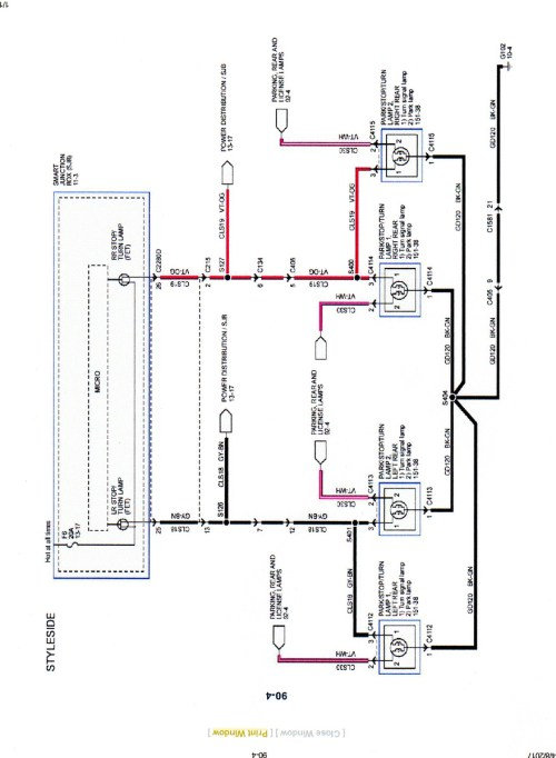 small resolution of 2007 f150 trailer wiring diagram wiring diagram centre 2007 ford f 150 running light wiring diagram