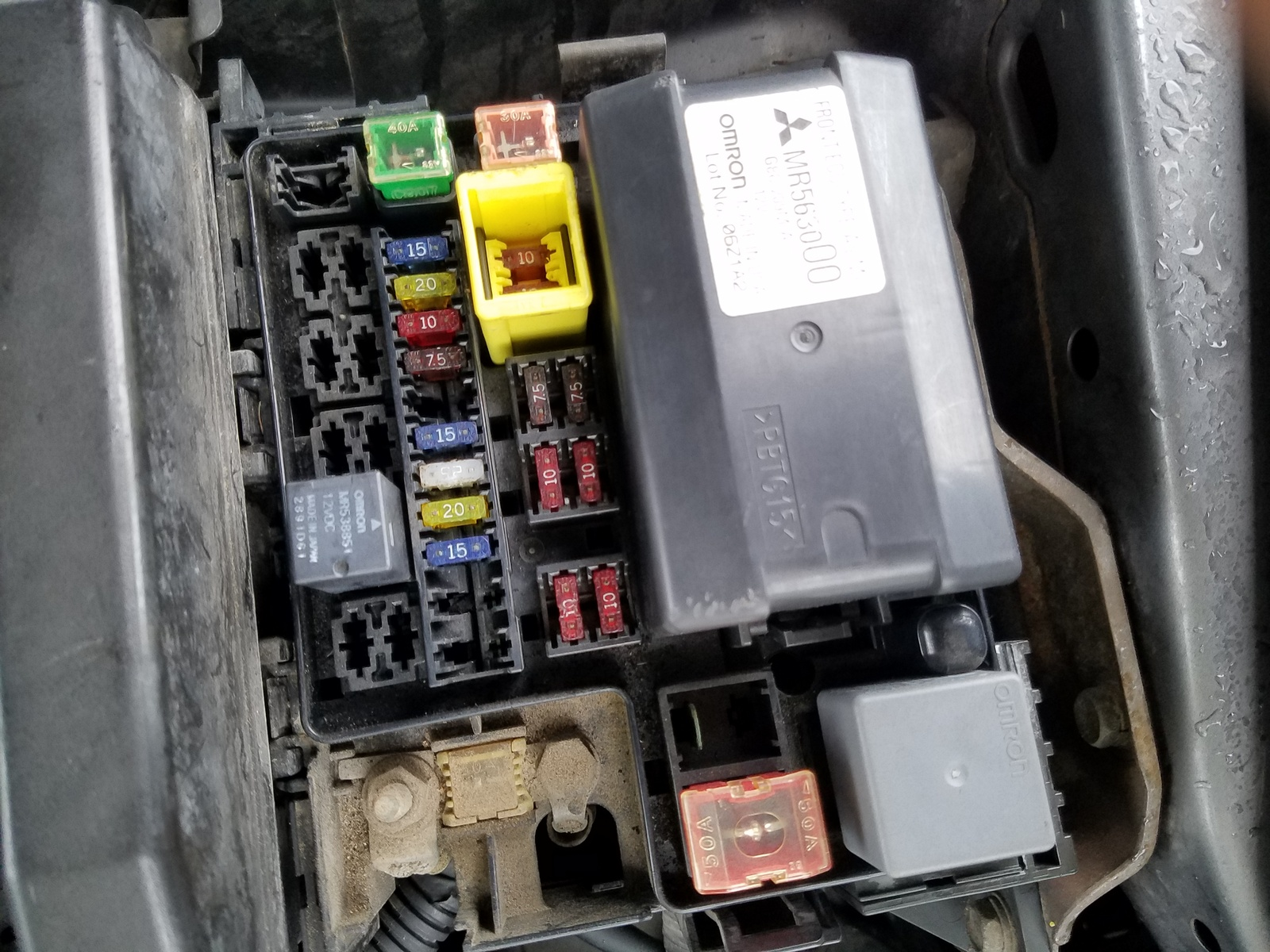 Relay Diagram Fuel Pump