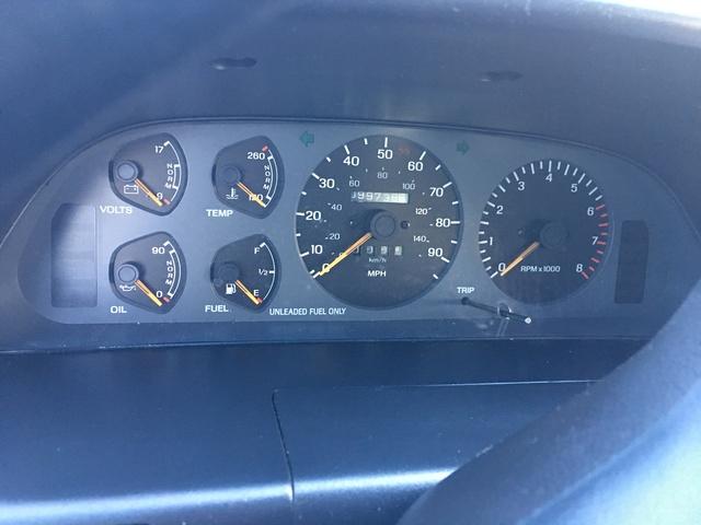 1992 ford probe interior
