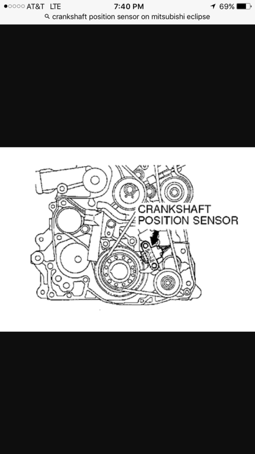 small resolution of that is plugged into the bottom of my engine what could be the problem is it possible for me to have put the sensor on wrong