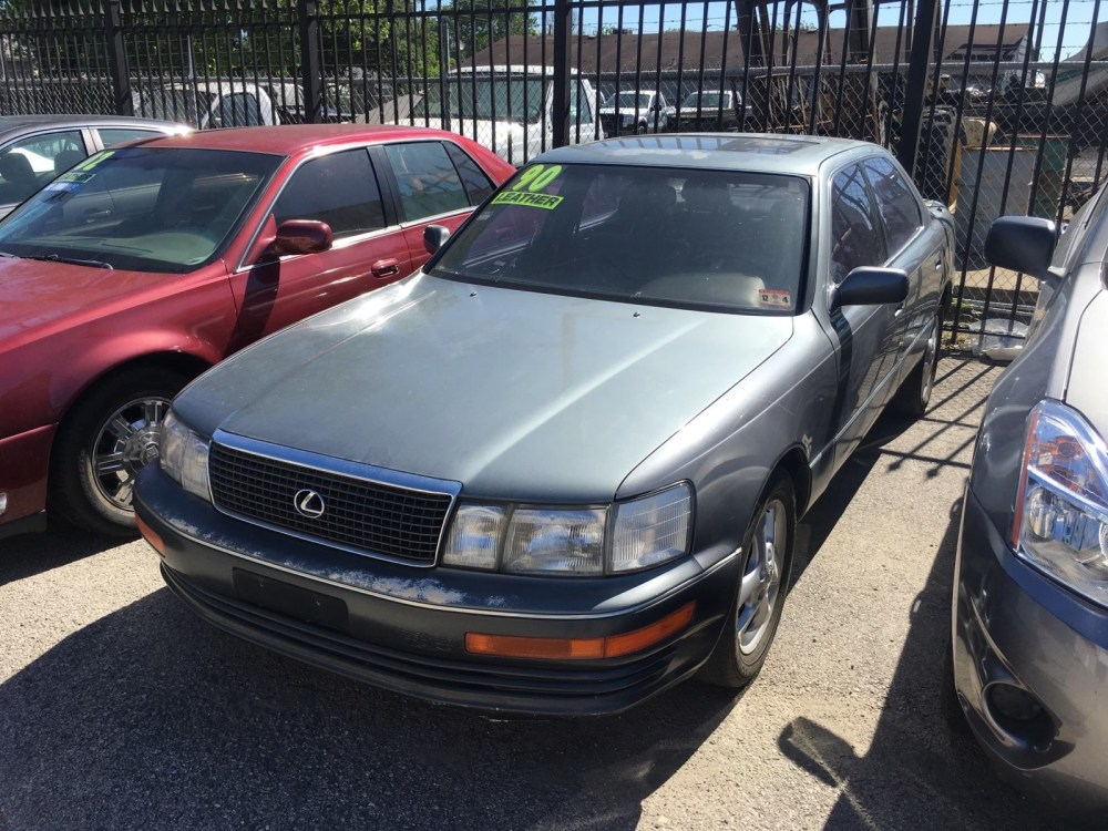 medium resolution of 1991 lexus ls 400 overview