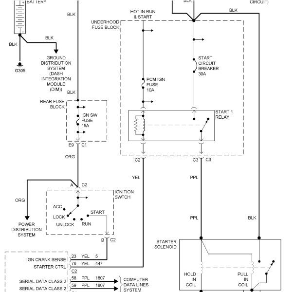 pontiac grand prix ignition switch wiring diagram  92