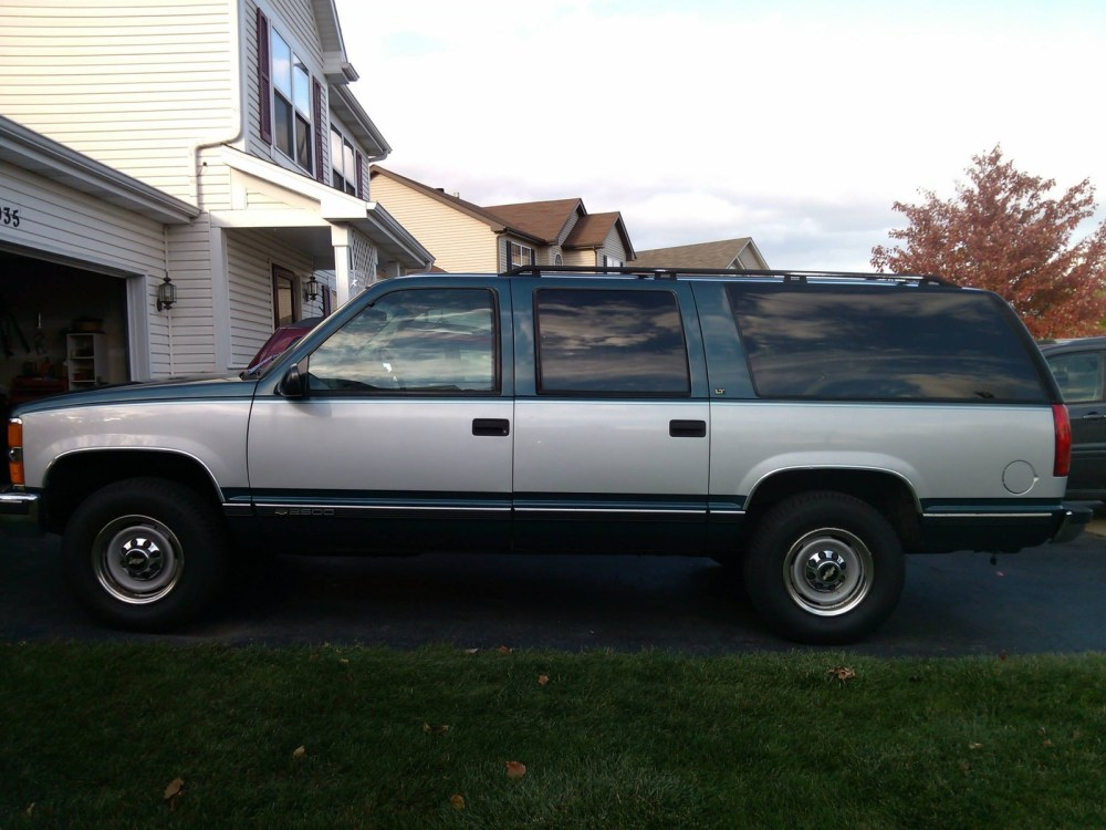 medium resolution of 1995 chevrolet suburban overview
