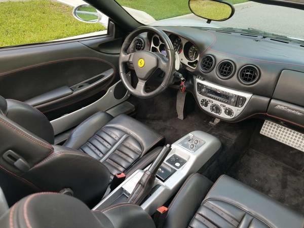 2002 Ferrari 360 Interior Pictures CarGurus