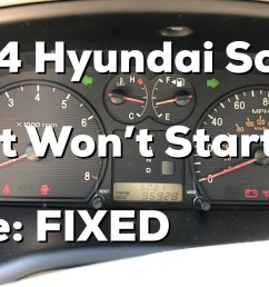 2004 hyundai sonata intermittent start issue https youtu be muqrstexico if the link to the video doesn t work search for user nperspective on  [ 1600 x 900 Pixel ]