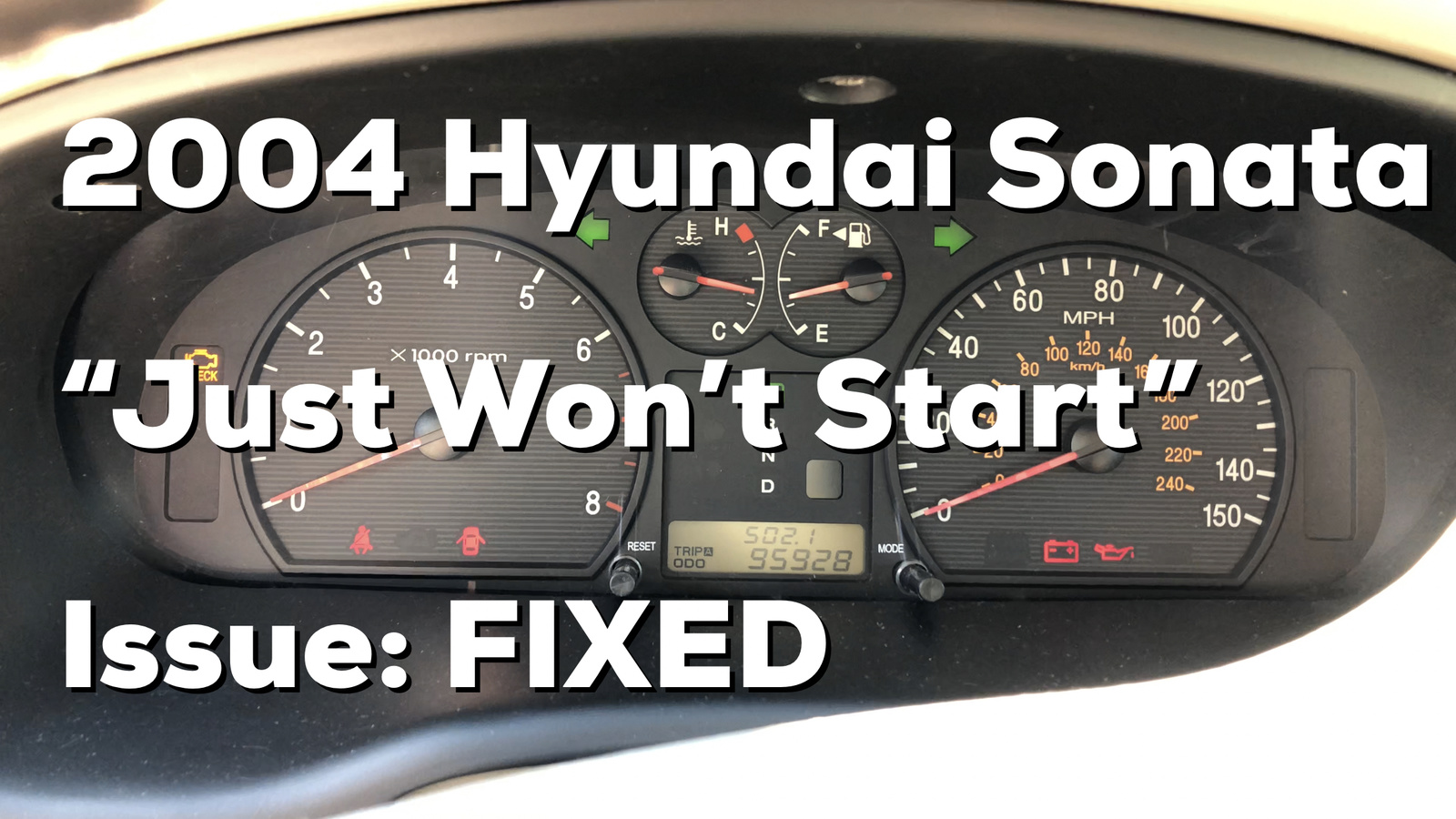 2000 hyundai elantra engine diagram 93 mustang radio wiring sonata questions - car won't do anything when you try to start it, happens ...