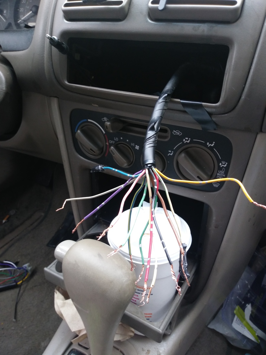 Stereo Wiring Color Code Along With Toyota Corolla Radio Wiring