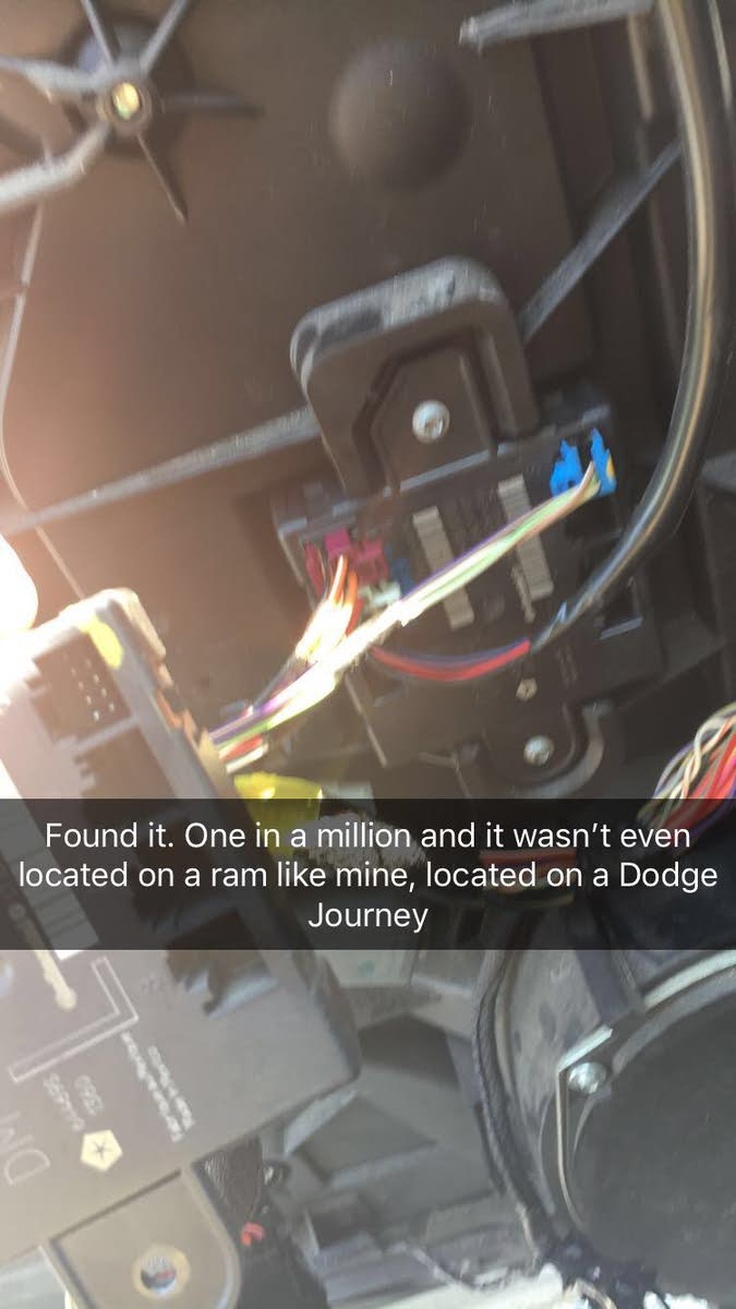 medium resolution of 5x5 box located in the door with three connectors i found it at a pull apart located on a 2010 dodge journey simple replaced and worked like a charm