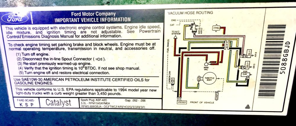 medium resolution of 1990 ford f 150 5 0 liter engine diagram wiring diagrams konsult 1988 ford f 150