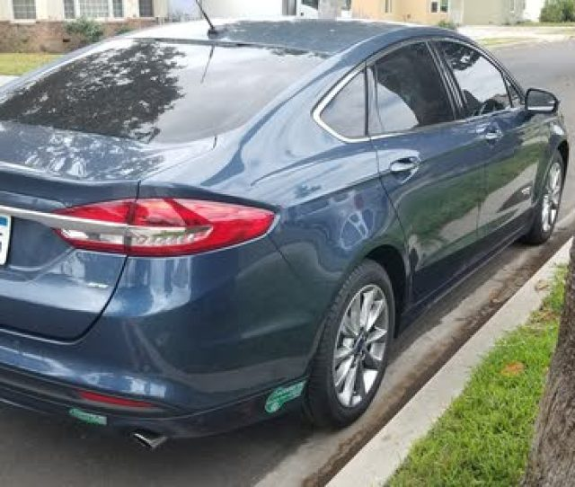 Ford Fusion Energi Review