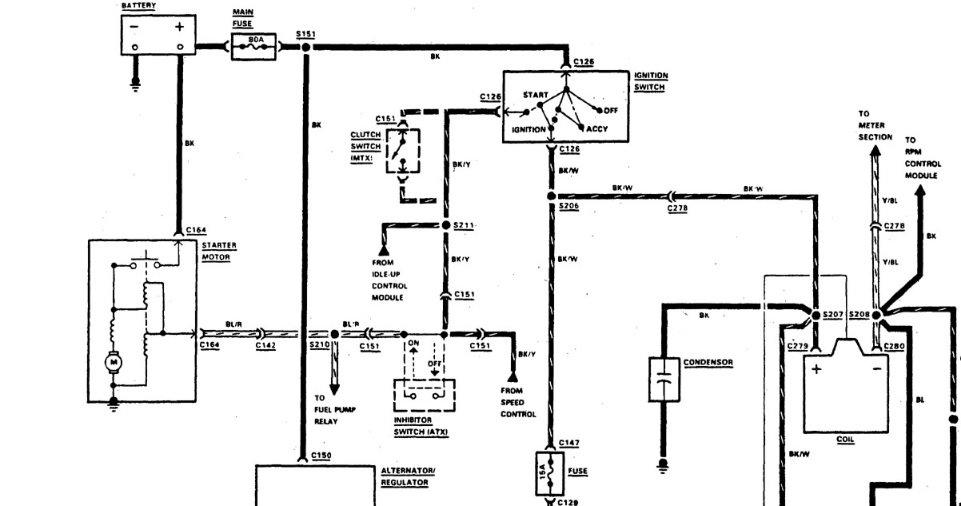 Mercery Ignition Starter Switch Wiring Diagram • Wiring