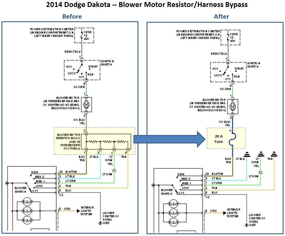 hight resolution of 2003 dodge dakota blower wiring harness wiring diagram expert 2004 dodge dakota blower motor resistor wiring