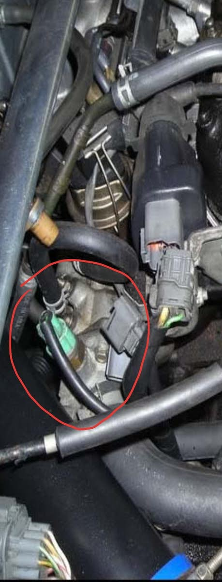 2003 honda crv ac wiring diagram power inverter accord questions how should the radiator fan a c on my 2002 4cyl after chasing down overheating issue i found cooling temp control switch sensor located thermostat housing