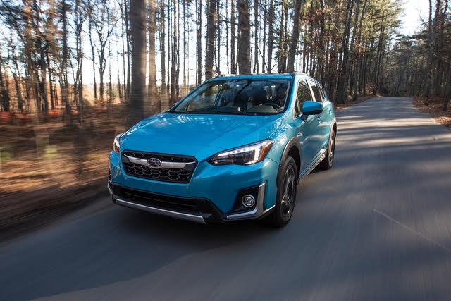 2019 subaru crosstrek hybrid test drive
