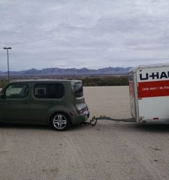 u haul did install a hitch and wire harness on the cube but i don t know if it also extends to the front  [ 1600 x 901 Pixel ]