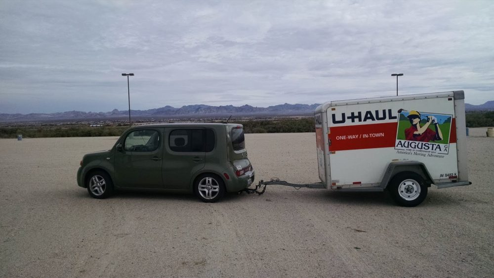 medium resolution of u haul did install a hitch and wire harness on the cube but i don t know if it also extends to the front
