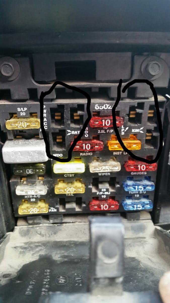 hight resolution of oldsmobile cutlass questions fuse box relays cargurusoldsmobile cutlass fuse box 8