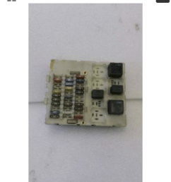 help me with a picture and what fuses to get i have a picture of the fuse box itsself [ 675 x 1200 Pixel ]