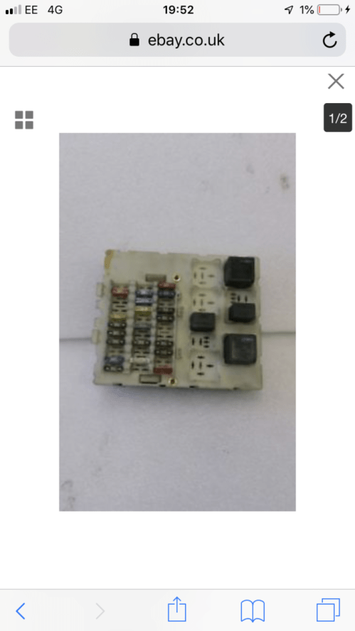 small resolution of help me with a picture and what fuses to get i have a picture of the fuse box itsself