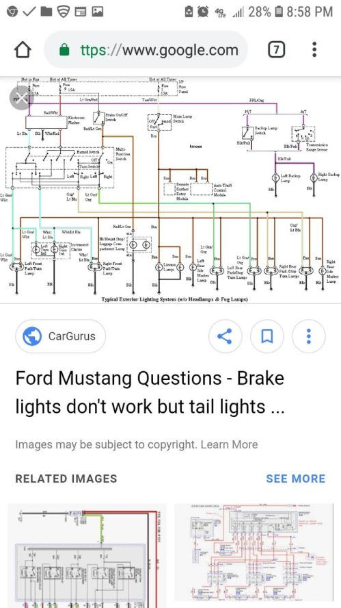 small resolution of 2004 mustang tail light fuse diagram wiring diagrams wni 2000 mustang brake light fuse wiring schematic