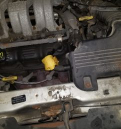 filter compartment and the engine oil compartment just to the right of the oil filler cap is located is this an easy diy repair  [ 1600 x 1200 Pixel ]