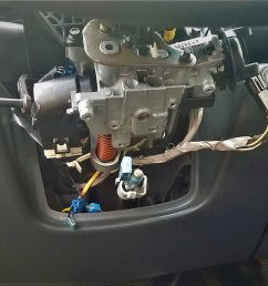 before you buy a new cylinder lock try removing park lock cable from the steering column if that fixes your problem then the park lock cable needs to be  [ 1600 x 1136 Pixel ]